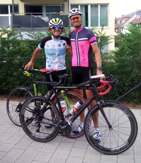 After a nice ride in the Schwarzwald with Anton (from Mallorca)